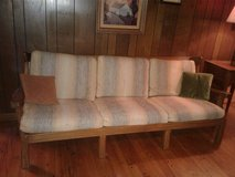 Vintage A. Brandt Ranch Oak couch in Glendale Heights, Illinois