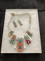 Necklace and earrings in Tinley Park, Illinois