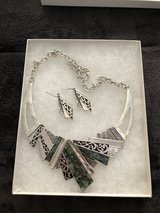 Earrings and necklace in Tinley Park, Illinois