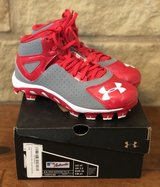 Boy's Under Armour Baseball Cleats - New in Box, Size 4Y in Conroe, Texas