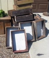 Barn Wood Planter Boxes in Camp Pendleton, California