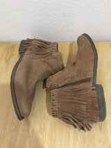 Sueded ankle boots in Conroe, Texas