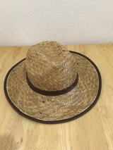 Straw hat in Conroe, Texas