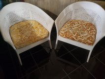 Vintage wicker chairs in Baytown, Texas
