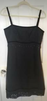 Beaded Black Short Prom Homecoming Party Dress Size 8 in Camp Lejeune, North Carolina