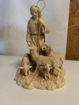 Good Shepherd with sheep in Fort Campbell, Kentucky