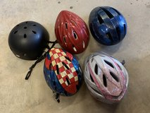 Bike helmets in Fort Campbell, Kentucky
