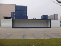 40FT HIGH CUBE (9? 6? HIGH) FULL SIDE ACCESS CONTAINER AVAILABLE in Okinawa, Japan