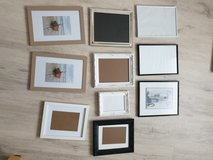 Different kinds of picture frames in Ramstein, Germany