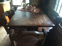 Large Wooden Table in Fort Campbell, Kentucky