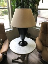 Pottery Barn table lamp in The Woodlands, Texas