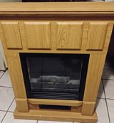 Electric wooden fireplace in Orland Park, Illinois