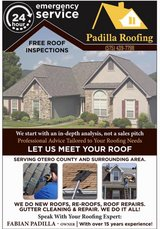 Padilla Roofing in Alamogordo, New Mexico