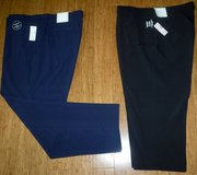 New! Sz 18W Dress Barn Women's Navy Dress Slacks -OR- Black Capri Pants (see measurements) in Westmont, Illinois