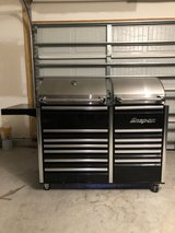 Snap-On Grill with fridge combo New Never Use in Camp Lejeune, North Carolina