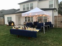 10x10 Pop Up Canopy with Privacy Wall in Fort Campbell, Kentucky