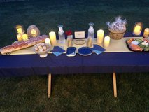 60x102 Navy Blue Tablecloth in Fort Campbell, Kentucky