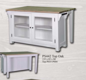 United Furniture - Kitchen Island #1 in all Colors - also Antic Finish - Including Delivery in Baumholder, GE