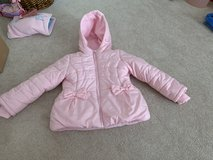 Pink puffer jacket and snow pants 6x in Warner Robins, Georgia