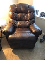 Brown Leather Recliner in Bartlett, Illinois
