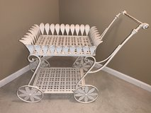 Serving Cart With Rolling Wheels in Naperville, Illinois