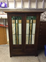 Unique Armoire - Stained glass doors in Bolingbrook, Illinois