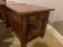 3 Solid cherry mission end tables in Bartlett, Illinois