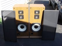 REALISTIC 1000 3 WAY SPEAKER SYSTEM in St. Charles, Illinois