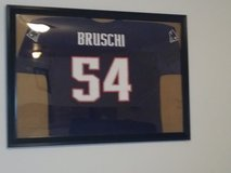 *Reduced Price* Tedy Bruschi Navy Patriots Jersey in Fort Leonard Wood, Missouri