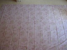 Simply Shabby Chic Cotton- Lilac Blossom Print-2 Panels-NEW in Naperville, Illinois