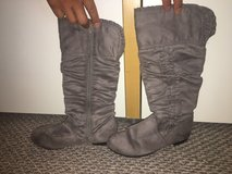 New!  Girls Gray Tall Boots in Westmont, Illinois