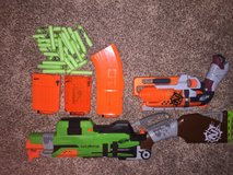 Nerf zombie strike package in Camp Pendleton, California