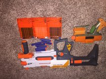 Nerf Modulus set of guns in Camp Pendleton, California