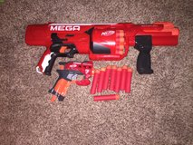 Nerf Mega series guns in Camp Pendleton, California