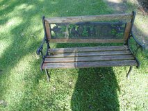 CHILDS PARK BENCH in Bolingbrook, Illinois