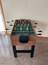 foosball/ manual air hockey/ pool table in one in Okinawa, Japan