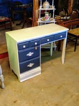 solid maple chalk painted desk in Cherry Point, North Carolina