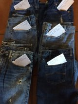Size 6 blue jeans - lot of 6 pairs in Stuttgart, GE