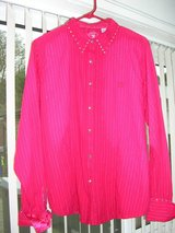 red   country  western  blouse in Lakenheath, UK