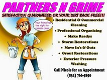 Life is messy. Clean it up! Call Partners N Grime in Kingwood, Texas