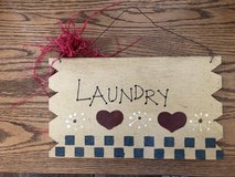 Laundry Sign in Fort Campbell, Kentucky