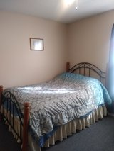 Full-size bed frame in Fort Campbell, Kentucky