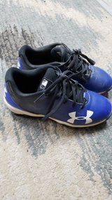 Toddler size 13 under armour baseball in Kingwood, Texas