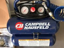 Campbell Hausfeld FP209599AV 2-Gallon Mini Twin-Stack Air Compressor with 1 1/4-I... in Ramstein, Germany