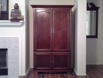 Tall, Entertainment Armoire in The Woodlands, Texas