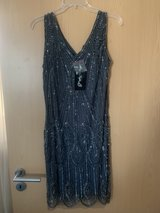 Grey beaded dress in Wiesbaden, GE