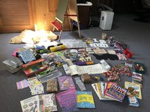 Arts Crafts Lot + Easel  Most New in Bolingbrook, Illinois