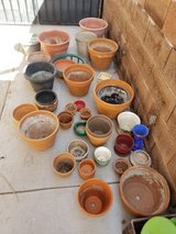 assorted pots for gardening in Alamogordo, New Mexico