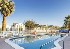 Beat the heat in our private pool in 29 Palms, California