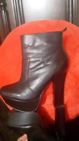 Boots, leather, high heels in Barstow, California